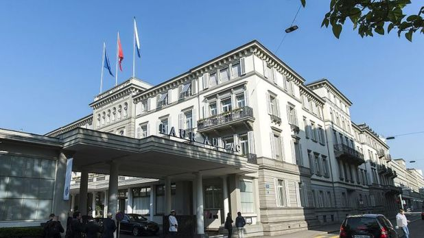 Marin was one of seven FIFA officials arrested at Hotel Baur au Lac in Zurich in 2015