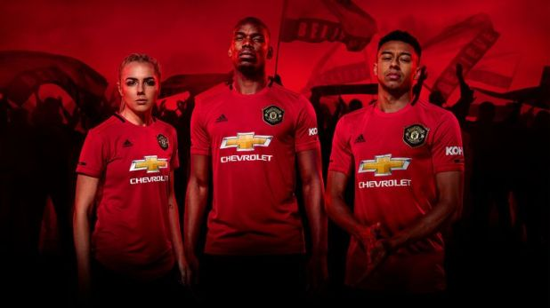 Paul Pogba stars in Manchester United's new kit campaign, alongside Alex Greenwood and Jesse Lingard