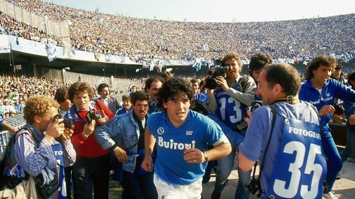 Diego Maradona's Napoli adventure remembered in stunning 2019 film    Football News   Sky Sports