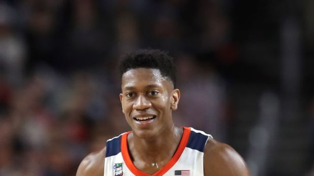 DeAndre Hunter helped the Virginia Cavaliers to a national championship