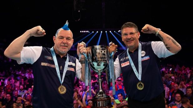 Wright and Gary Anderson sealed World Cup glory last month, which appears to have kick-started Snakebite's revival