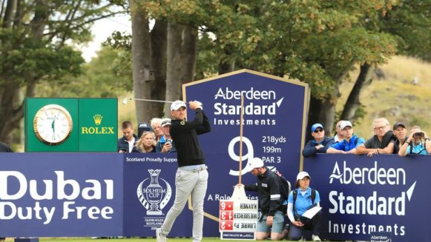 Bernd Wiesberger stormed into a tie at the top with a 61