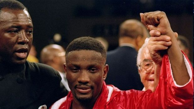Pernell Whitaker won world titles in four weight classes
