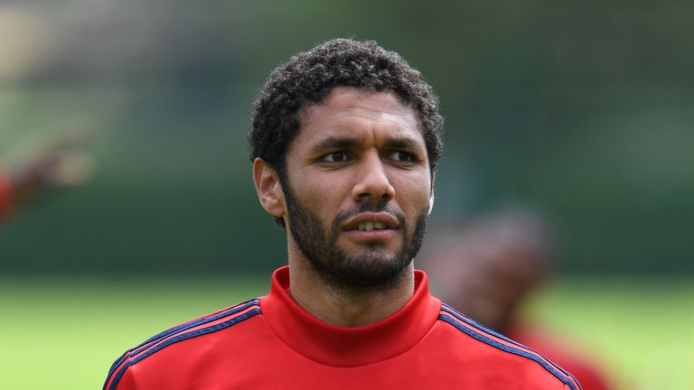 Mohamed Elneny is close to joining Besiktas on loan  Arsenal midfielder Mohamed Elneny in talks with Besiktas over season-long loan move | Football News skysports elneny arsenal mohamed elneny 4758858