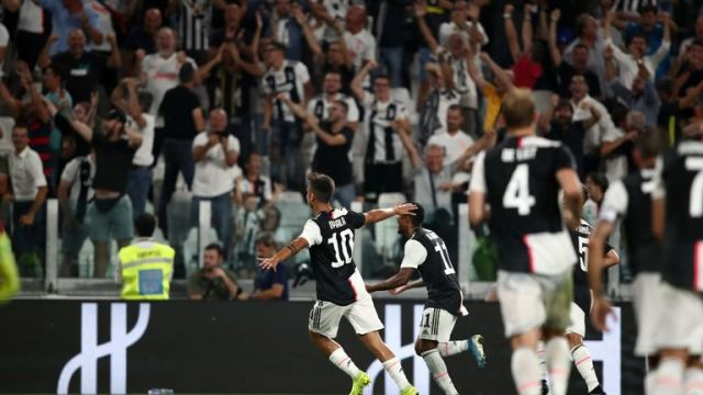 Juventus snatched a last-gasp victory against Napoli