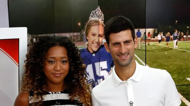 Naomi Osaka and Novak Djokovic won the men's and women's singles titles last year at Flushing Meadows