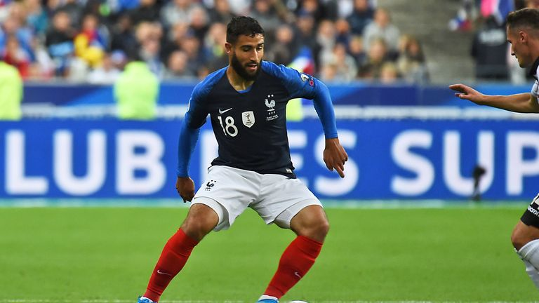 Fekir has two goals in 21 caps for France