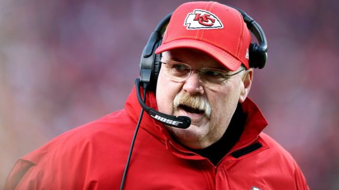 Andy Reid has signed a contract extension with Kansas City Chiefs