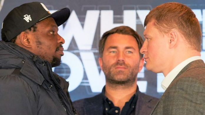 Whyte risks world title ambitions against Povetkin