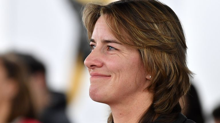 Dame Katherine Grainger is Team GB's most decorated female Olympian