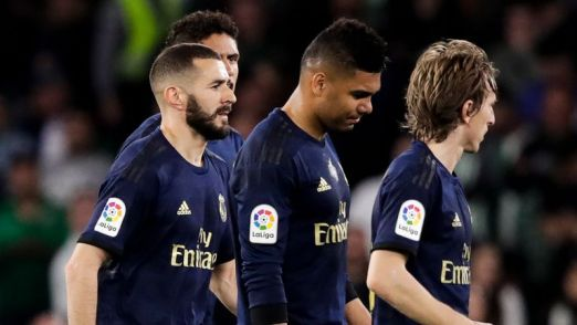 Real Madrid players have been sent home to self-isolate for 15 days