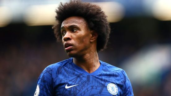 Willian is now back in Brazil with his family after being granted a leave of absence by Chelsea