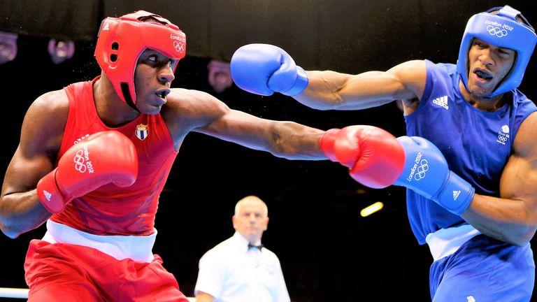 Cuba's Erislandy Savon had been an early opponent for Haqq