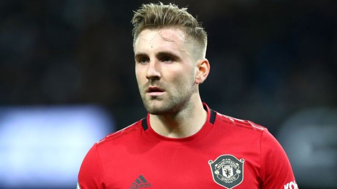 Luke Shaw says playing behind closed doors doesn't feel right