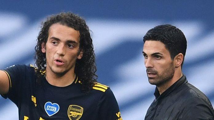 Matteo Guendouzi was dropped by Mikel Arteta for the trip to Southampton