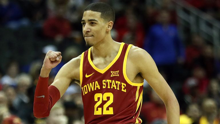 Tyrese Haliburton in action for Iowa State