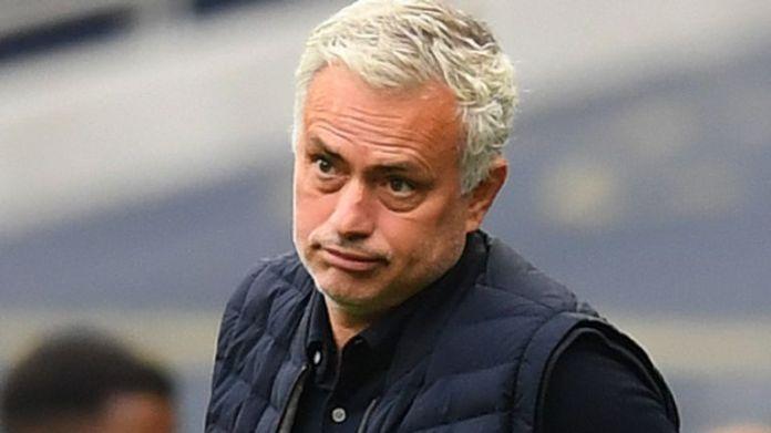 Spurs head coach Jose Mourinho
