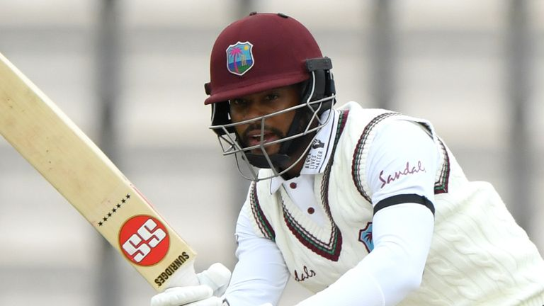 Shai Hope's poor form has cost him his Test place