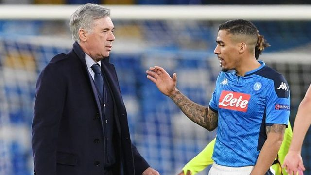 Allan (R) is a player Carlo Ancelotti knows very well