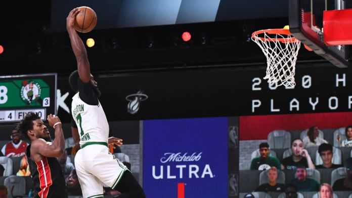 Another Jaylen Brown star trick wasn't enough for Boston