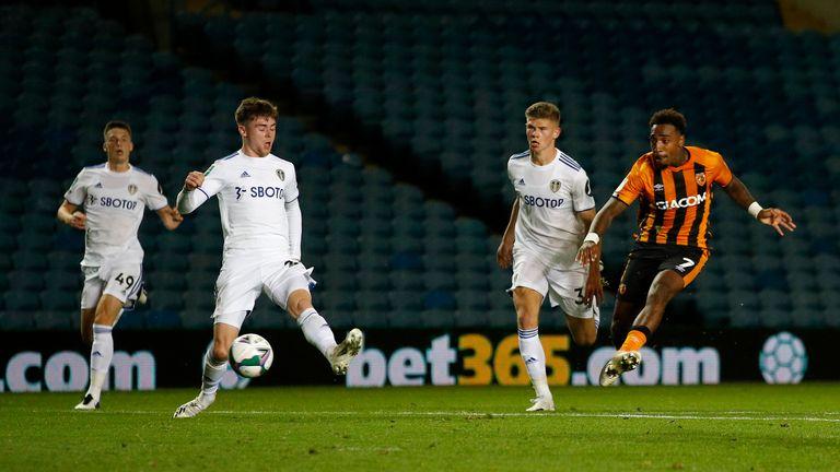 Malik Wilks gave Hull the lead against his former club