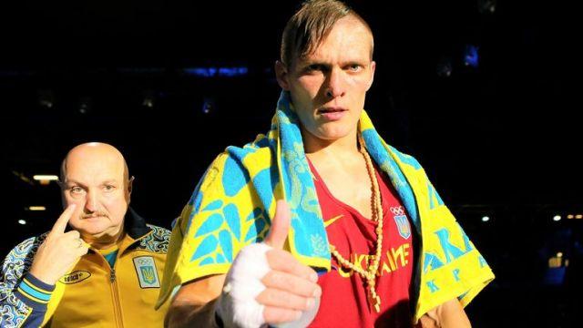 Usyk defeated Siarhei Karneyeu at the World and European Championships