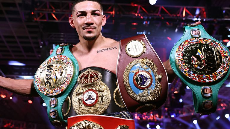 Teofimo Lopez is the newly crowned unified king at lightweight