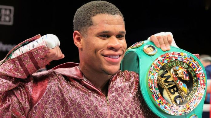 Devin Haney defends WBC title with dominant points win over Yuriorkis  Gamboa   Boxing News   Sky Sports