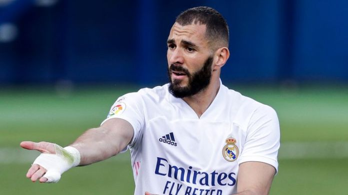 Real Madrid's Karim Benzema has scored five goals in his last four games
