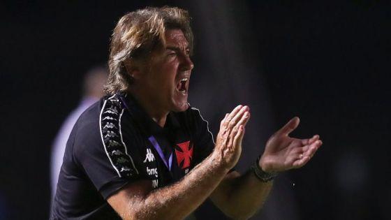 Ricardo Sá Pinto, treinador do Vasco da Gama
