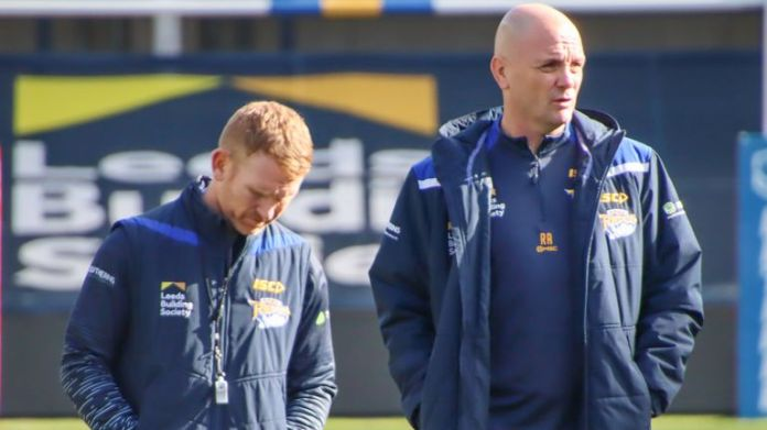 James Webster has been part of Richard Agar's coaching staff this year