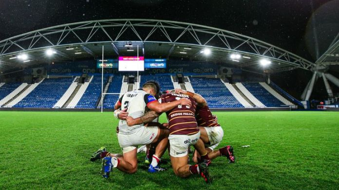 Toronto's final match was a win over Huddersfield in the Challenge Cup