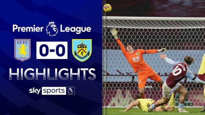 ASTON VILLA 0-0 BURNLEY