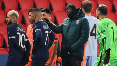 Paris Saint-Germain Vs Istanbul Basaksehir Abandoned: Players Walk Off  After Alleged Racist Remark | Football News | Sky Sports