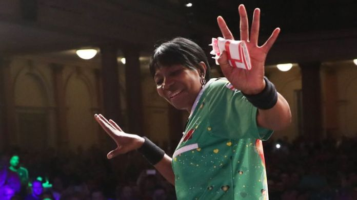 Deta Hedman will be among the names chasing a place at the World Championship and Grand Slam of Darts (Image: Lawrence Lustig)