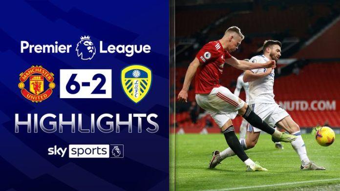 Man Utd v Leeds highlights