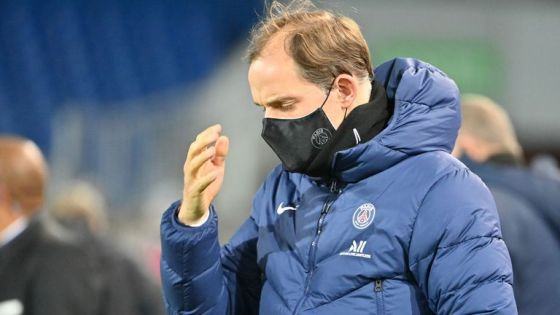 German coach Paris Saint-Germain Thomas Tuchel arrived to attend the French L1 football match between Montpellier Herault (MHSC) and Paris Saint Germain (PSG) at the Mosson Stadium in Montpellier, southern France, on December 5, 2020 (Photo by Pascal GUYOT / AFP) ( Photo: PASCAL GUYOT / AFP via Getty Images)