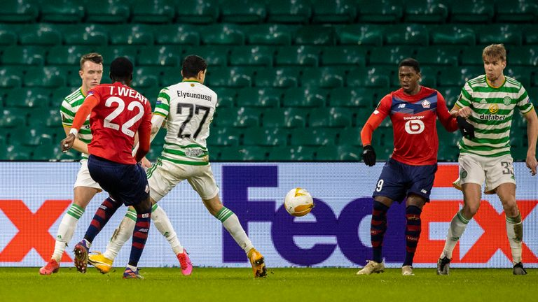 Timothy Weah makes it 2-2 in the UEFA Europa League group stage