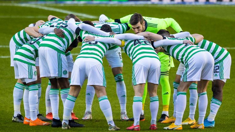 The Celtic squad travelled to Dubai after their defeat to Rangers