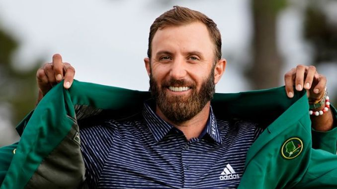 Dustin Johnson registered a five-shot win during last year's contest