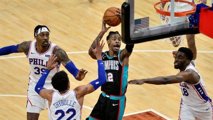 NBA Hls: 76ers v Grizzlies