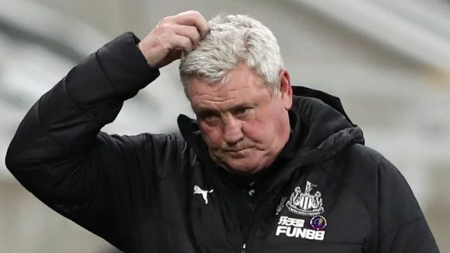 Steve Bruce has seen his Newcastle United side go eight games without a win in all competitions