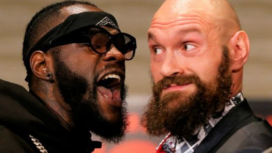 Deontay Wilder tried to extort another fight with Tyson Fury