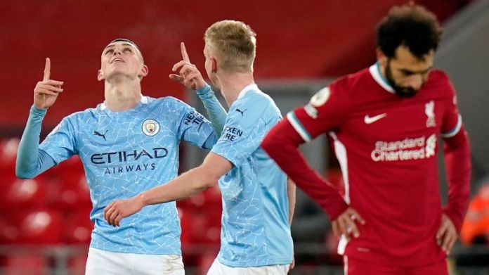 Man City are seven points clear at the top of the Premier League having beaten Liverpool and Tottenham in recent weeks