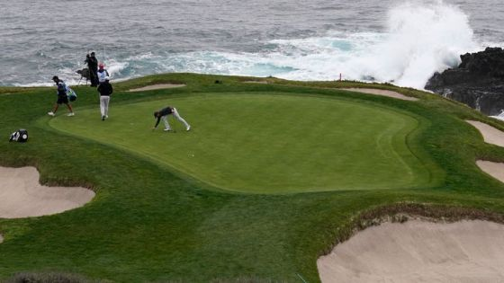 This year's AT&T Pebble Beach Pro-Am passed without spectators or amateurs due to Covid-19 restrictions