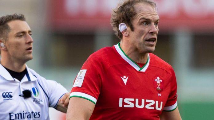 Eddie Jones accused Wales captain Alun Wyn Jones of targeting some England players