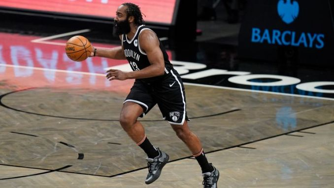 James Harden impressed once again with an amazing 38-point triple-double in Brooklyn's win over Minnesota.