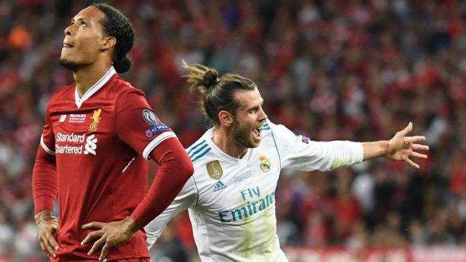 Gareth Bale helped Real Madrid beat Liverpool 3-1 in the 2018 Champions League final