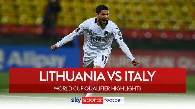 lithuania v italy highlights