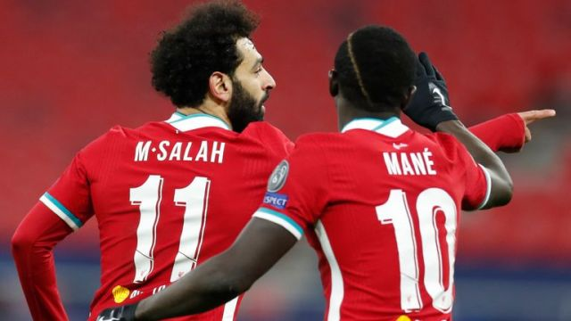 Mohamed Salah and Sadio Mane scored in both Champions League last-16 legs as Liverpool beat RB Leipzig 4-0 on aggregate